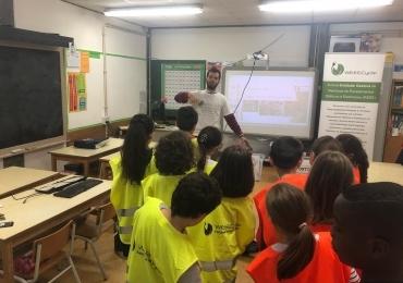 Participação nas AEC do Agrupamento de Escolas de Valongo