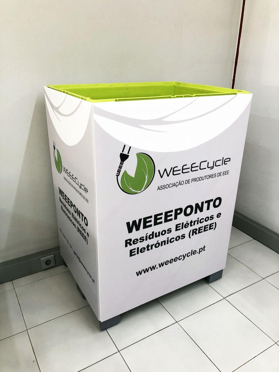 Recolha de resíduos de equipamentos elétricos e eletrónicos