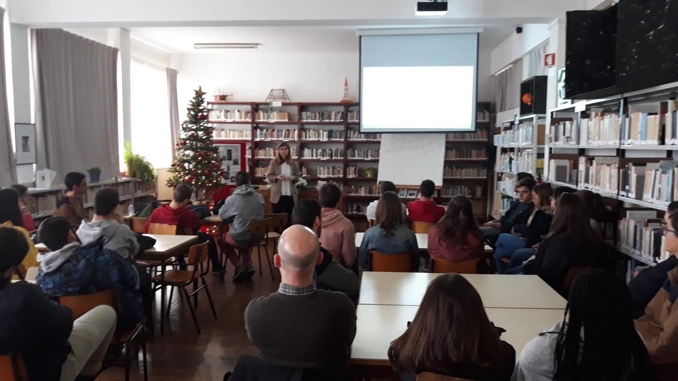 Sessão de S,C&E na Escola Secundária Jerónimo Emiliano de Andrade – Açores