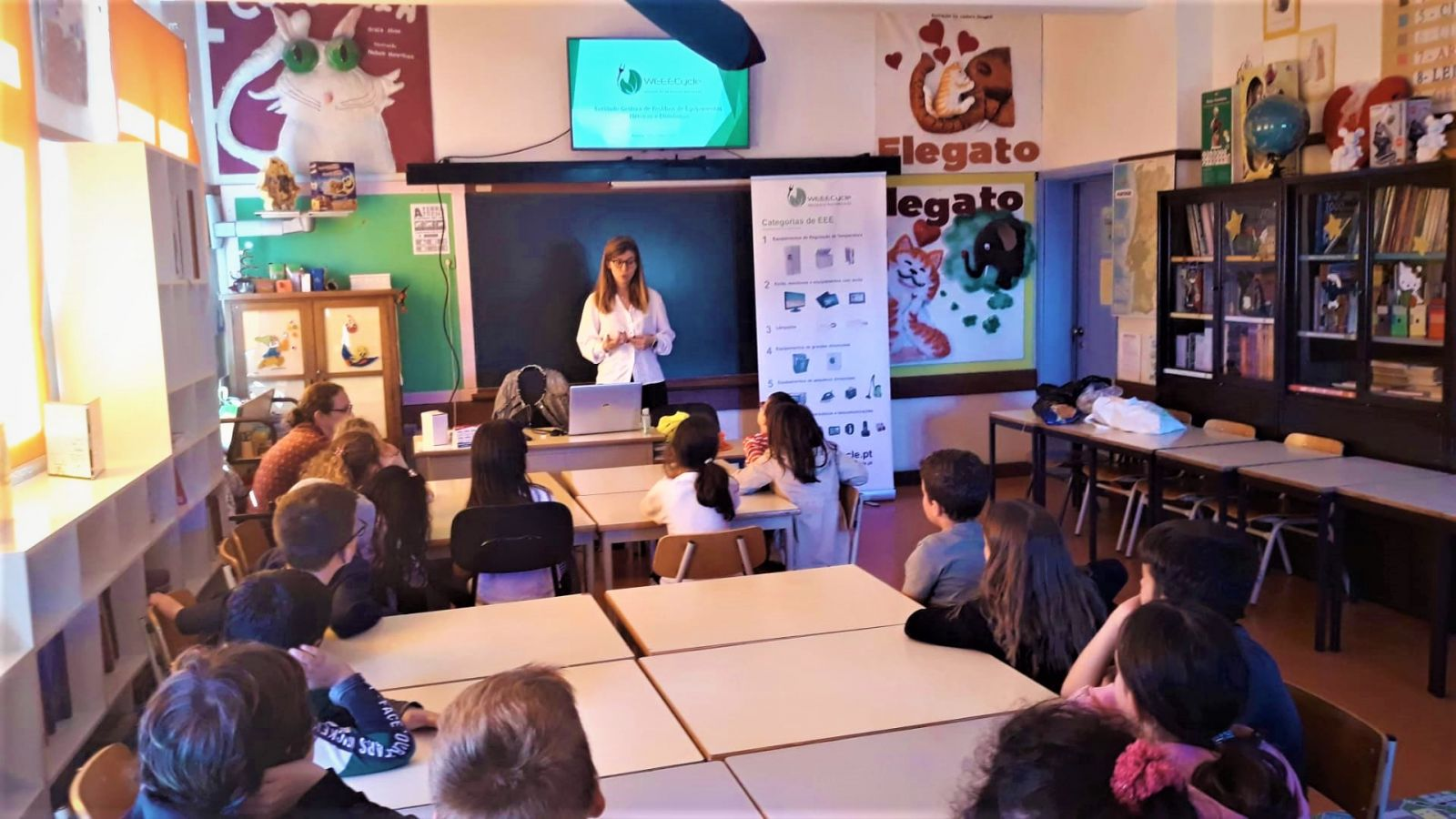 Atividades de sensibilização em Escolas do 1º ciclo da Madeira