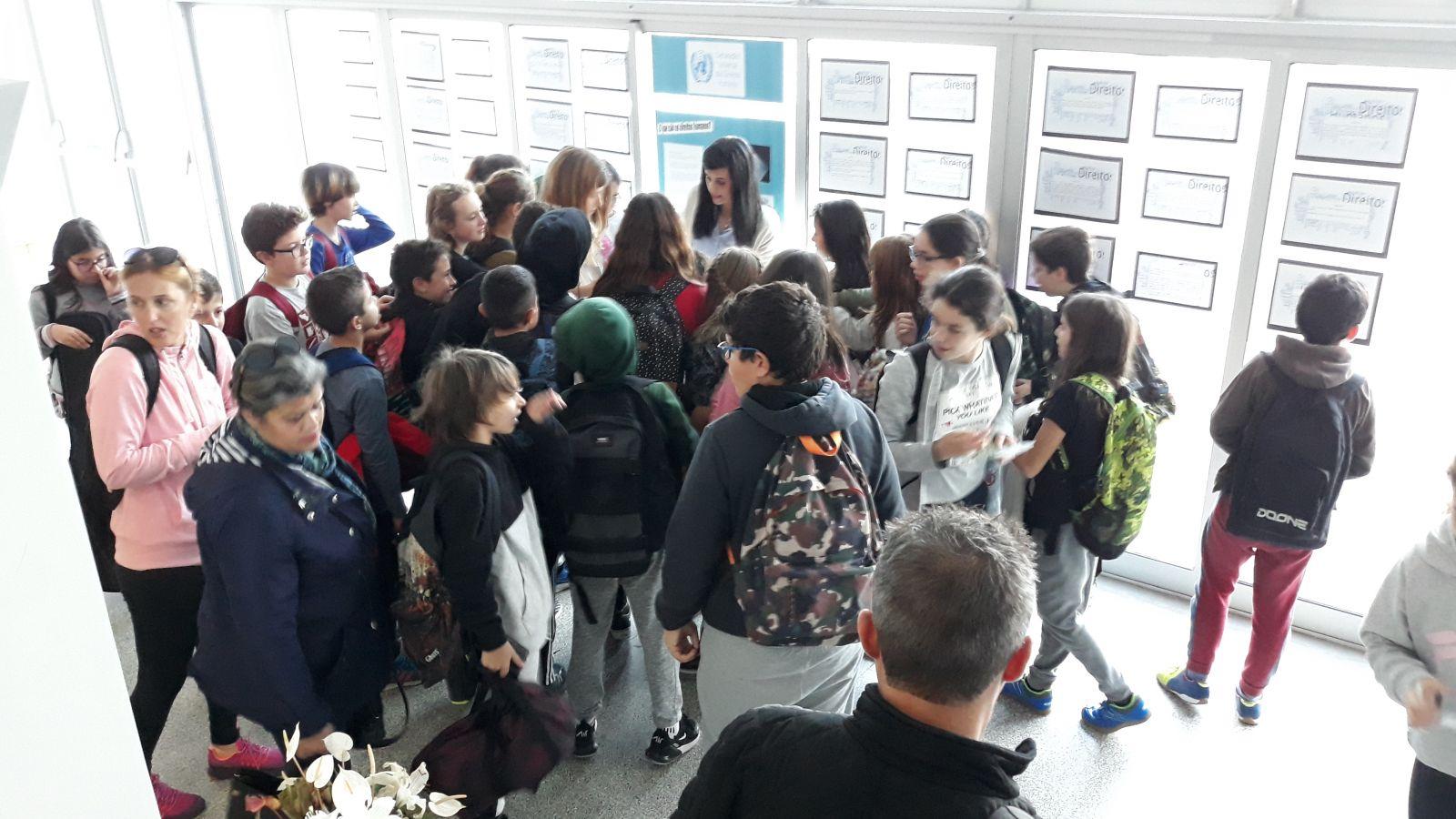 Ação de Sensibilização – Escola Básica Integrada da Horta, Faial
